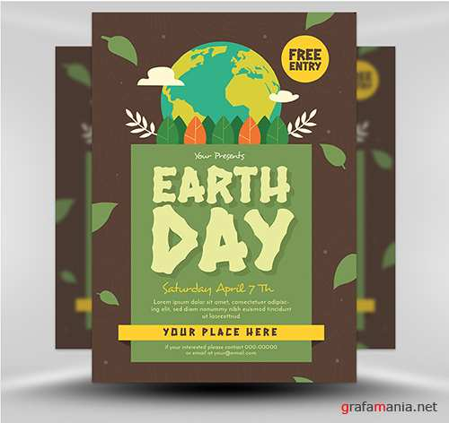 PSD Earth Day Flyer 2