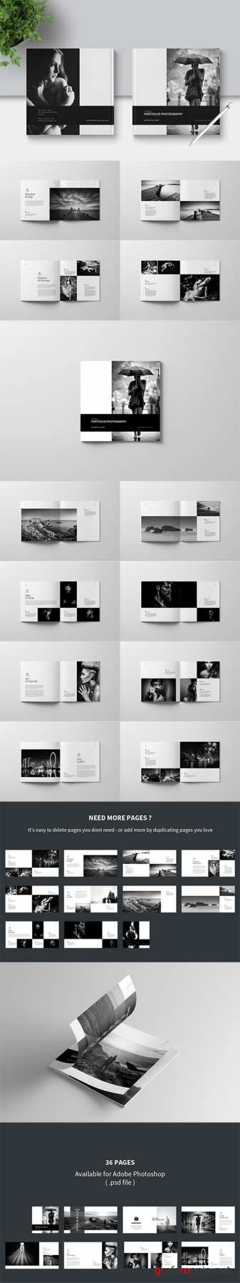 PSD - Photo Album Template