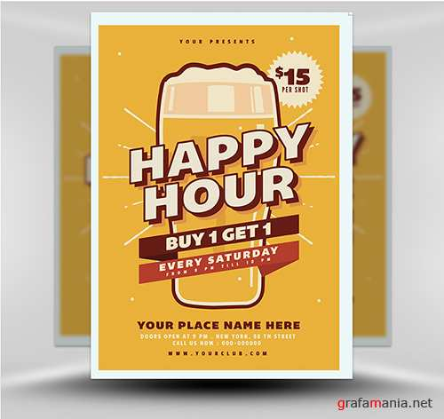 PSD Happy Hour Beer 1