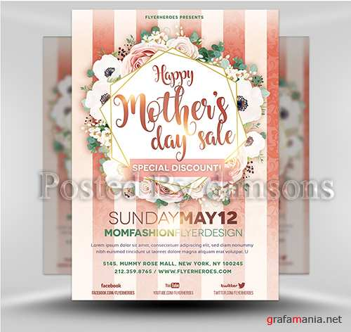 Mother's Day 1.19 PSD