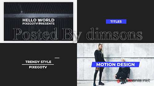 MA - The Titles v3.0 / Typography Pack 130646