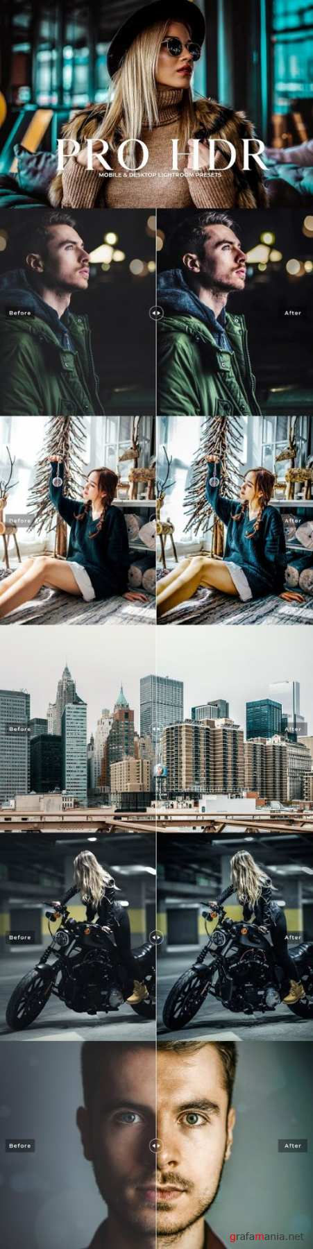 Pro HDR Collection Lightroom Presets 3418776