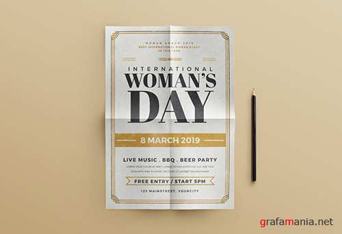 Woman's Day Flyer