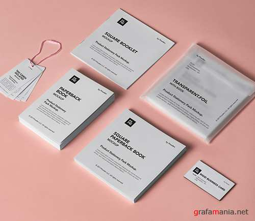 Product Stationery Pack Mockup