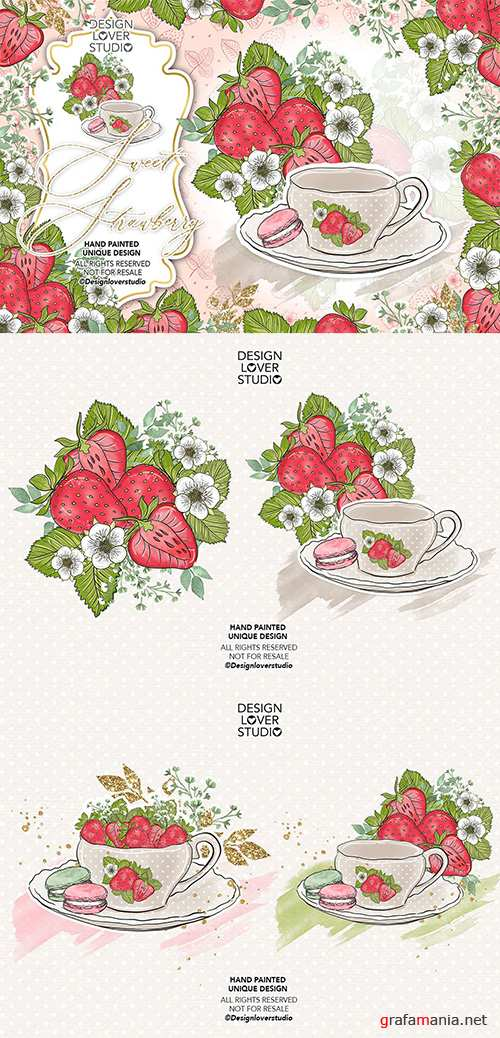 Sweet Strawberry design