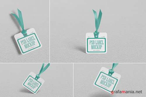 Cloth Tag Mockups