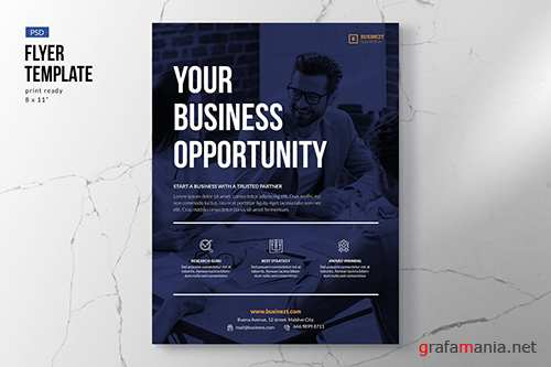 Modern & Professional Business Flyer PSD