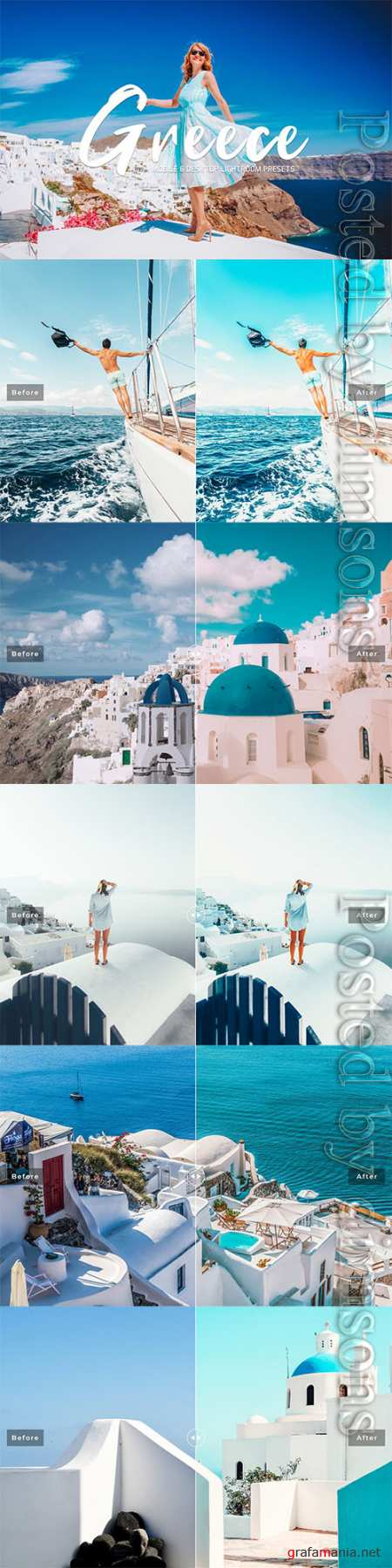 Greece Lightroom Presets Pack 3632848