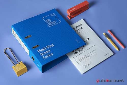 Office Pack Stationery Mockup