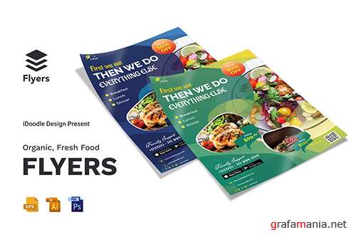 Organic, Fresh Food Flyer
