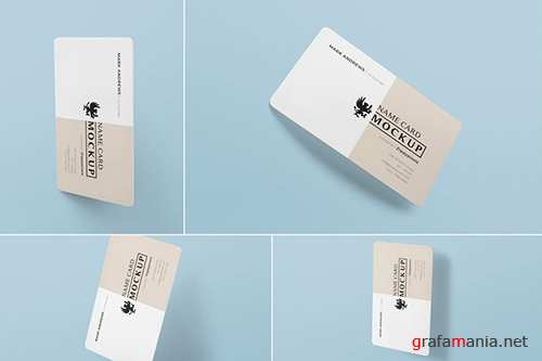 Exquisite Name Card Mockups