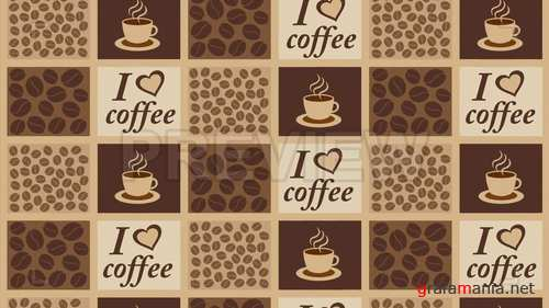 MA - Coffee Background Patterns 234762