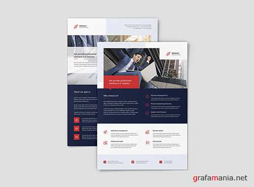 Flyer – IT Solutions PSD