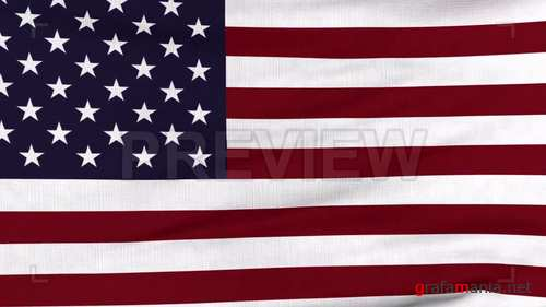 MA - US National Flag Waving 212643