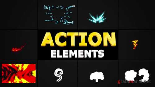 MA - Action Elements Pack 239640