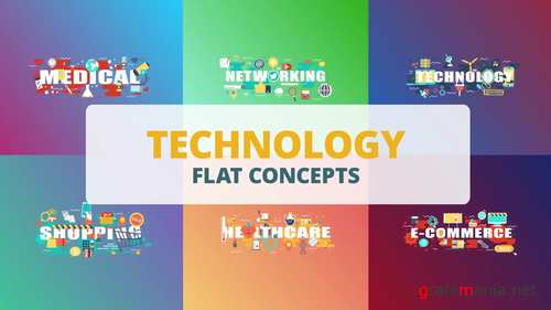 MA - Technology - Word Flat Concepts 221176