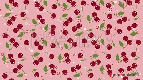MA - Cherry Pink Background 243925