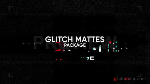 MA - Glitch Mattes Package 246049