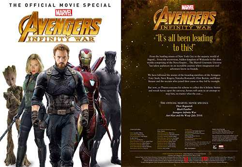 Avengers Infinity War - The Official Movie Special