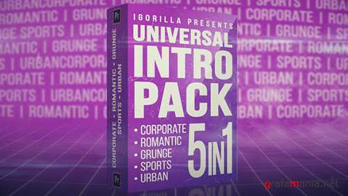 Universal Intro Pack 23292675