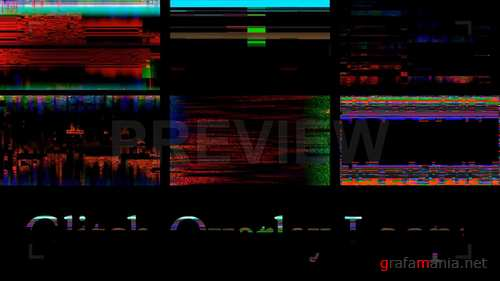 MA - Glitch Overlay Loops 216857