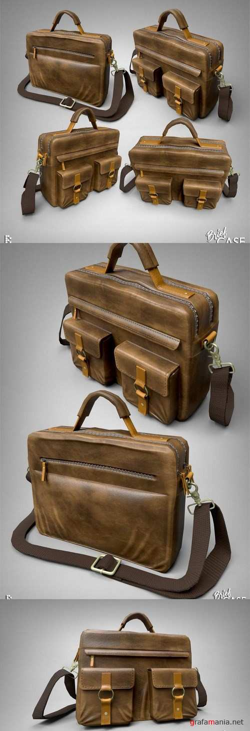 Brief Case – 3D Model