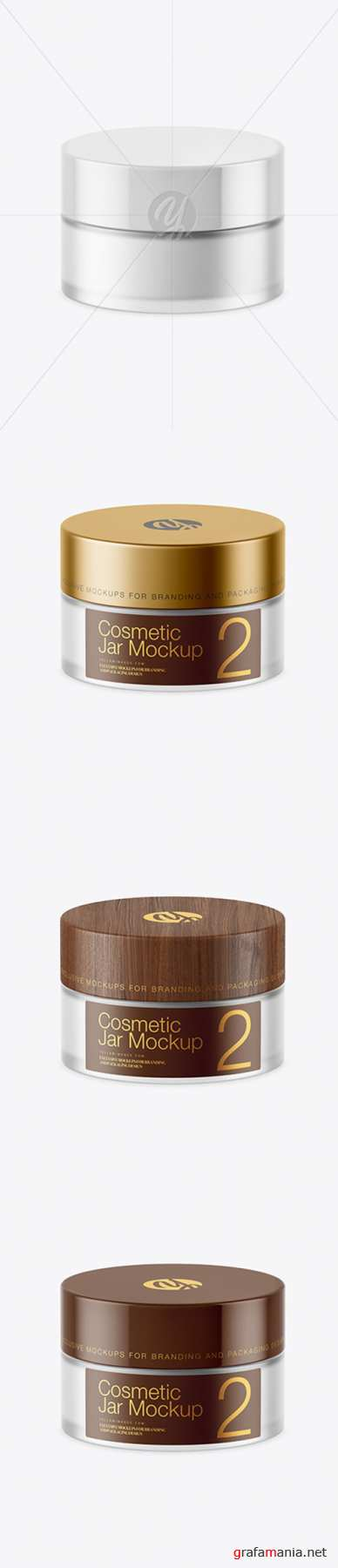Frosted Glass Cosmetic Jar Mockup 45169 TIF
