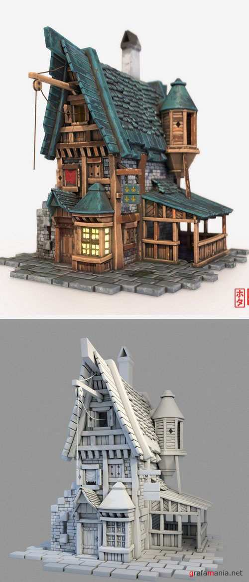 Little House – 3D Model
