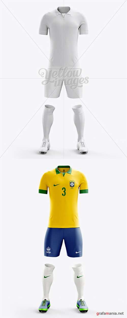 Full Soccer Kit Front View 10435 TIF