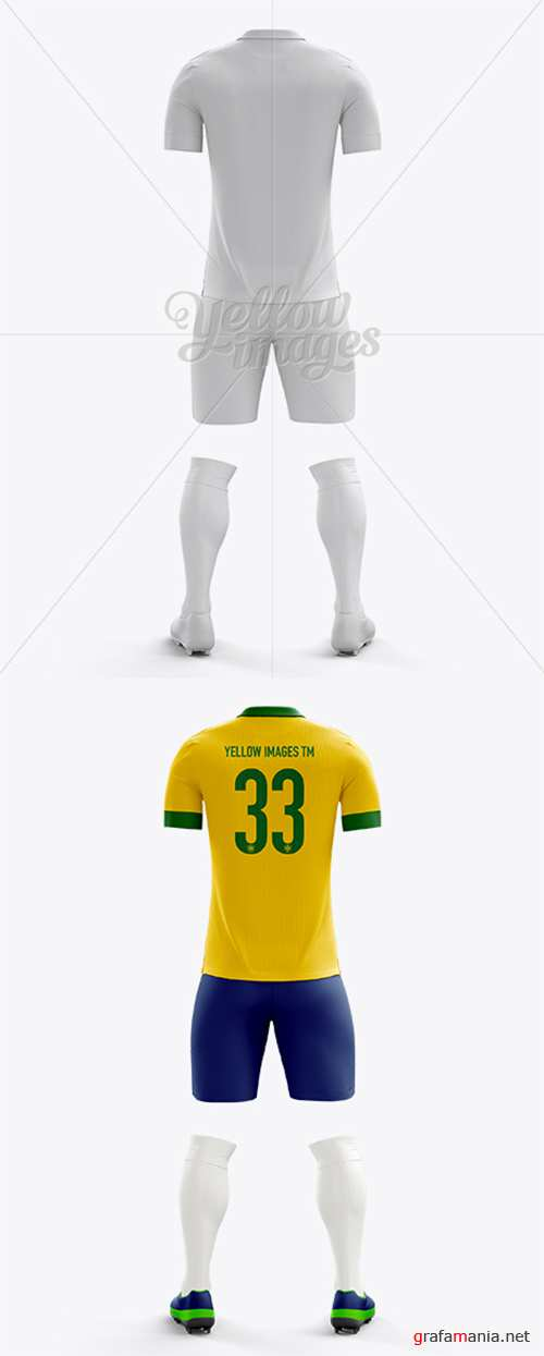 Full Soccer Kit Back View 10437 TIF