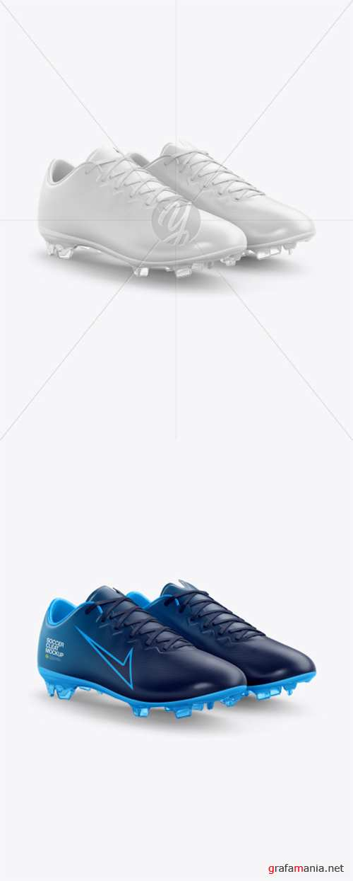 Soccer Cleats mockup (Half Side View) 39310