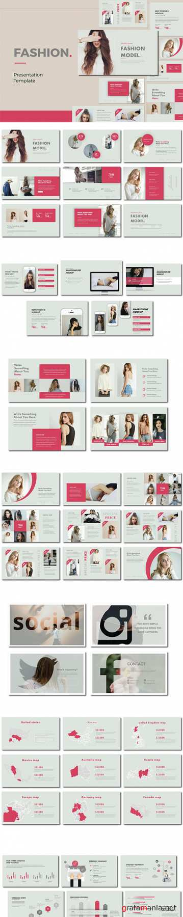 FASHION - Powerpoint and Google Sliders Template