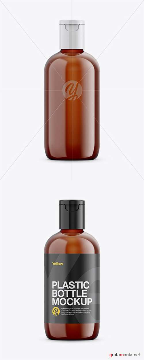 Amber Cosmetic Bottle Mockup 26307 TIF