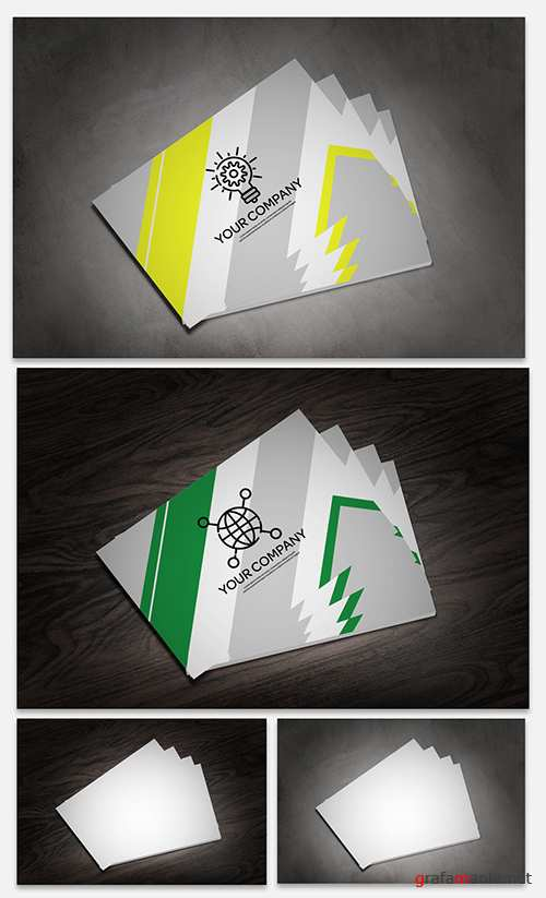 Fanned Business Cards Mockup 247662683 PSDT