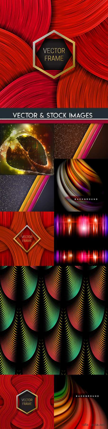 Abstract geometry background gradient design 30