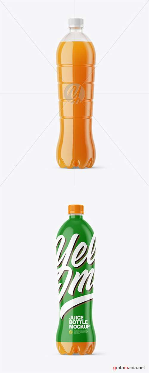 1,5L Carrot Juice Bottle Mockup 45434 TIF