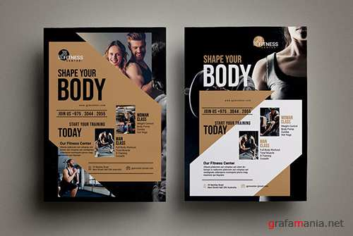Fitness Flyer PSD