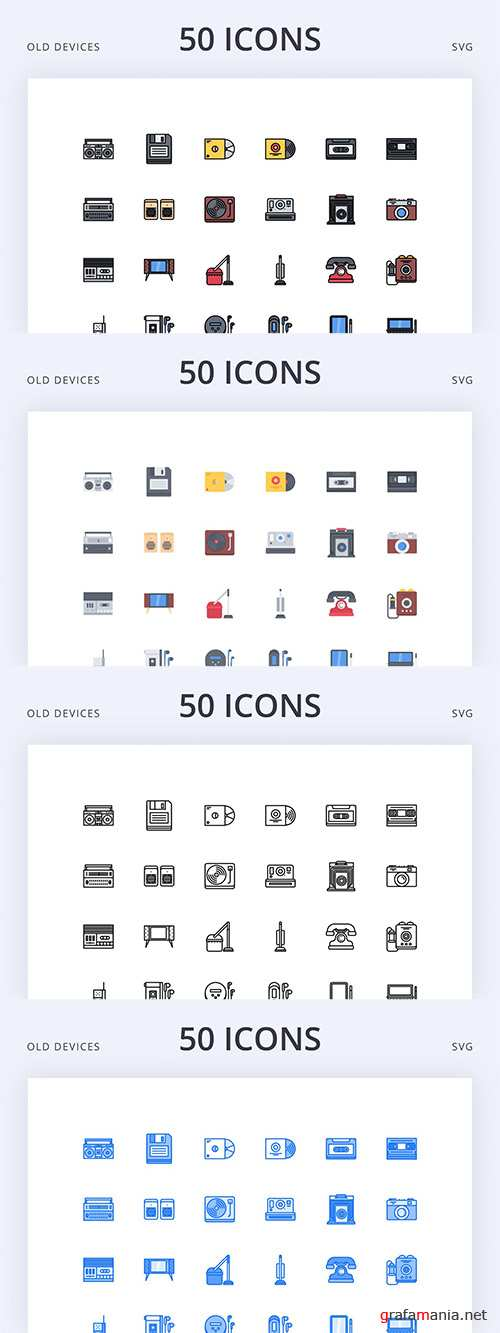 Old Device Icons