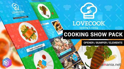Love Cook - Cooking Show Pack 22311195