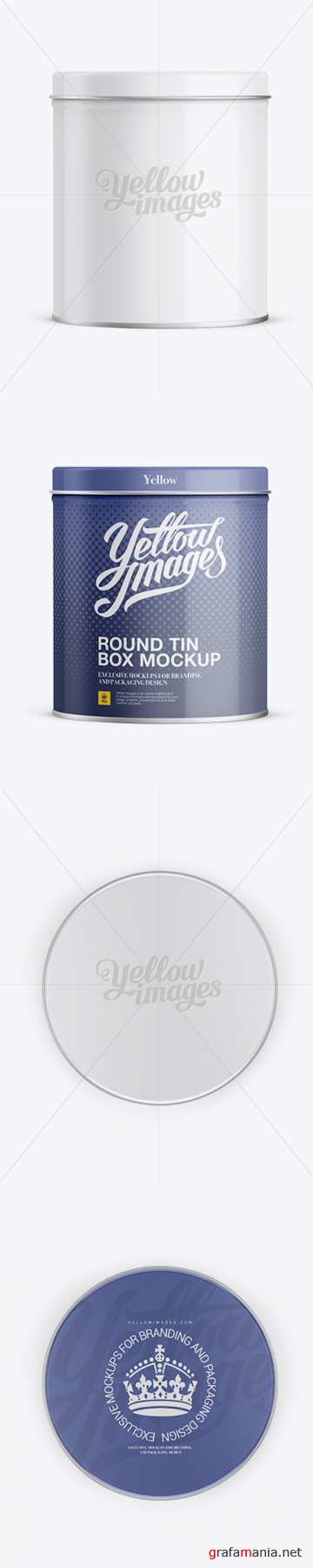 Small Round Tin Box Mockup 11830 TIF