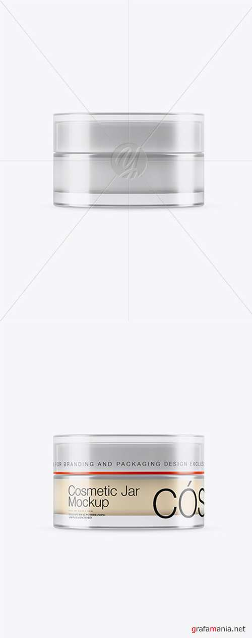 15ml Transparent Cosmetic Jar Mockup 25311 TIF
