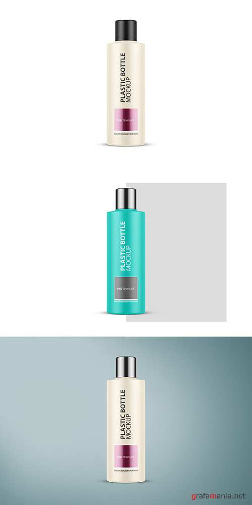 Tall Plastic Cosmetic Bottle Mockup 288940649 PSDT