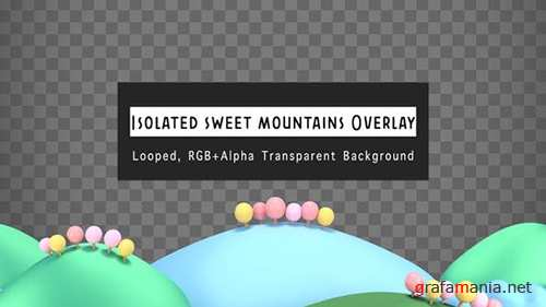 VH - Isolated Sweet Mountains Overlay 24499271