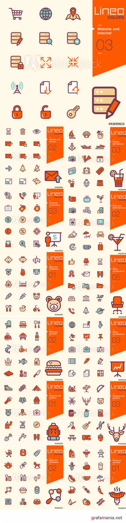 Lineo Colors Icons Pack Vol 5