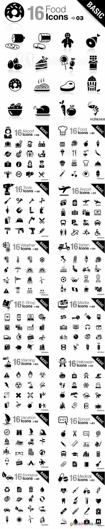 Basic Icons Pack Vol3