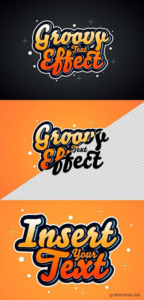 Retro Text Effect Mockup 291973369 PSDT