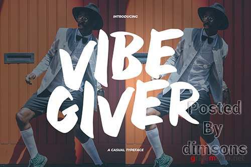 VibeGiver - A Casual Typeface