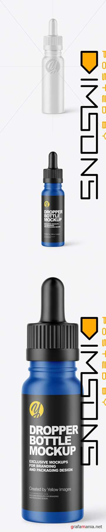 Matte Dropper Bottle Mockup 44890 TIF