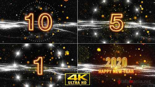 Videohive - New Year Wishes with Countdown V2 - 22955951