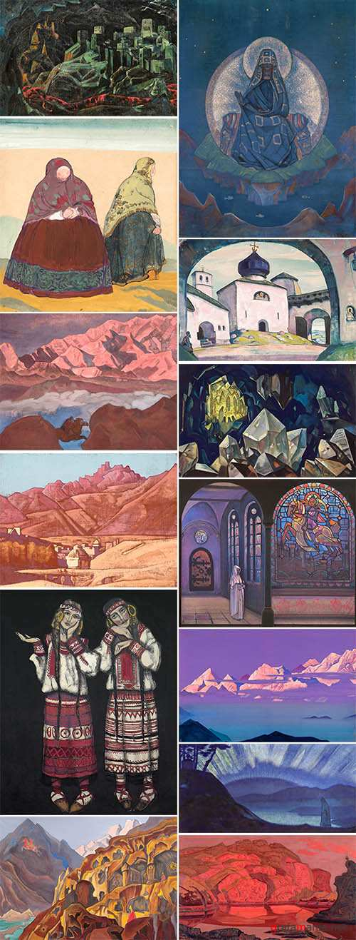 Roerich Nicholas-Collection of Paintings